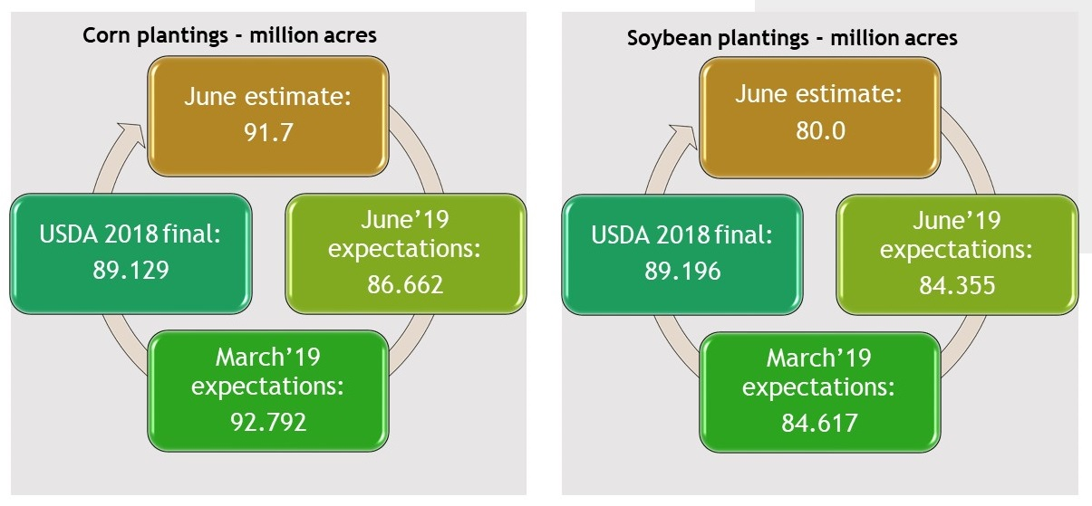 United States Agricultural Report, planting forecasts